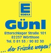EDEKA Günl, Etterschlagerstraße 101, 82237 Wörthsee Supermarkt