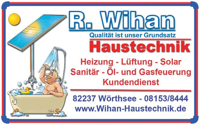 Robert Wihan Haustechnik in Wörthsee - Heizung, Sanitär, Solar