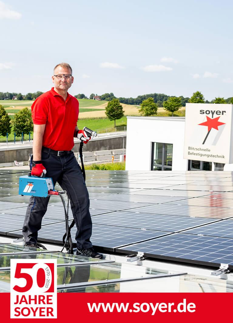 Heinz Soyer GmbH - Alles über Bolzenschweißen | SRM, CD & DA